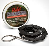 Pocket Chainsaw Survival Tool with Carrying Can