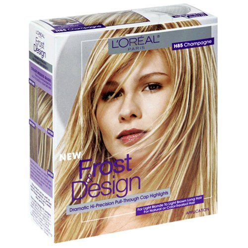 L'Oreal Frost And Design Pull-Through Cap Highlight Kit, Champagne H85