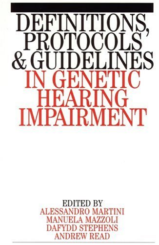 定义、 协议和准则在遗传听力障碍 (Exc 商业和经济 (Whurr))
