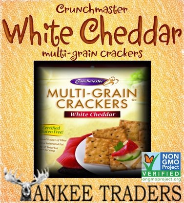 White Cheddar Multi-grain Crackers- 2 / 4.5 Oz Bags
