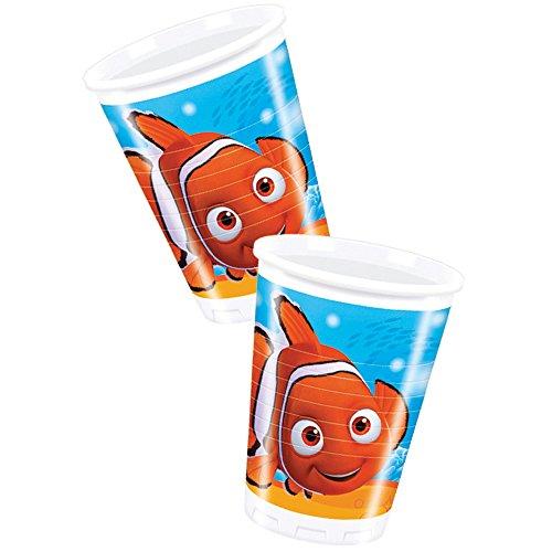 Disney Pixar 200ml Finding Nemo Plastic Cups