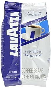 Lavazza Gran Filtro Whole Bean Coffee, 2.2 Pound Bag