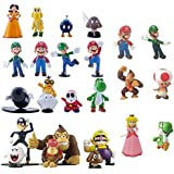 Come Home Love® 24 Pcs Nintendo Super Mario Bros Action Figure