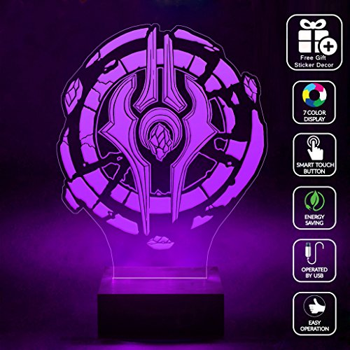 cmlart-handmade-draenei-crest-alliance-logo-3d-lamp-rgb-full-color-44-key-remote-control-led-night-l