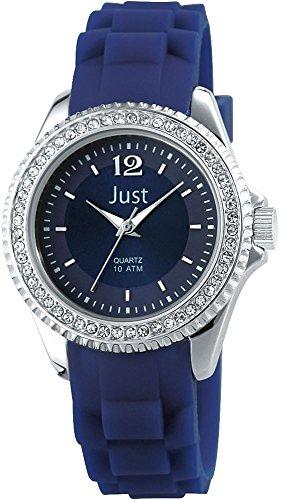 Just Watches 48-S3858-DBL - Orologio da polso da donna, cinturino in caucciù colore blu