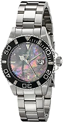 Invicta Women's 17369 Pro Diver Analog Display Swiss Quartz Silver Watch