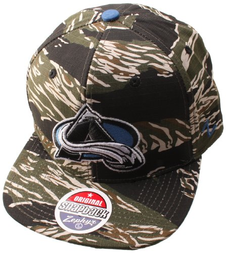 NHL Colorado Avalanche Urban Jungle Hat, Camo/Tiger at Amazon.com