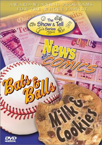 The Show & Tell Series Set (Milk & Cookies/Bats & Balls/News & Comics)
