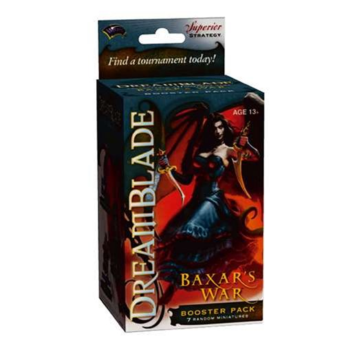 Dreamblade Collectible Miniatures Game Baxar's War Booster Pack