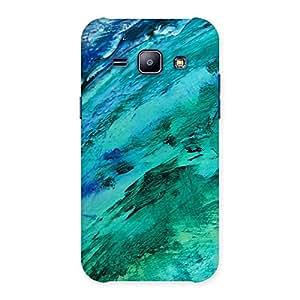Ajay Enterprises Texture Paints Back Case Cover for Galaxy J1