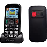 Denver GSP-110 Big Button Senior Mobile Phone Unlocked With SOS Button, Talking Numbers and Torch