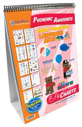 NewPath Learning Phonemic Awareness Curriculum Mastery Flip Chart Set, Early Childhood (Foundational Skills Flip Chart compare prices)
