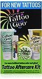 Tattoo Goo Tattoo Aftercare Kit - Includes Soap - New Formula, Tattoo Goo, Lotion, Color Guard