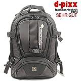 XTREM+ XTREMPLUS Dynamik Shuttel L - Premium Fototasche - Fotorucksack mit Zugriff über das Rückenteil NEUHEIT 2014
