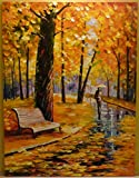 ***SUMMER SALE*** FALL RAIN is a One-of-a-Kind, ORIGINAL OIL PAINTING ON CANVAS by Leonid AFREMOV