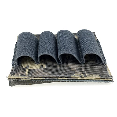 Airsoft Tactical Hunting Stick Shotgun Shell Ammo Carrier Holder 4 Round 12Ga 20Ga (ACU) (Gun Safe Stick Dehumidifier compare prices)