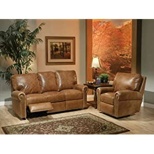 Kathy Ireland Fairfield Reclining Leather Sofa Price