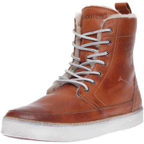 Blackstone Men's AM32 Hi Top Shearling SneakerEmber41 EU(8-8.5 M US)