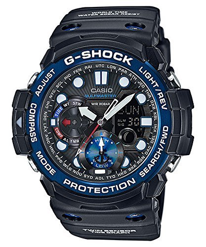 Casio G-Shock Smoke Dial Resin Digital Chrono Quartz Men's Watch GN1000B-1A