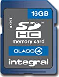 Integral 16GB SDHC Card Class 4: INSDH16G4V2 (INSDH16G4V2)