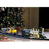 Traditional Train Set Wrap around Christmas Tree Holiday & Seasonal Home Décor