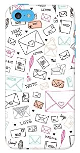 DailyObjects Love Letter Case For iPhone 5C (Back Cover)