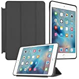DMG Premium Detachable Back Cover Smart Case For Apple IPad Mini 4 (Black)