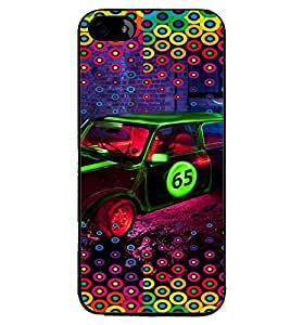 PRINTVISA Abstract Car Pattern Case Cover for Apple iPhone SE