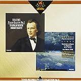 ブラームス:ピアノ四重奏曲第2番;フランク:ピアノ五重奏曲;リスト:ピアノ作品(6/1983)
