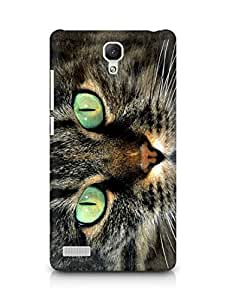 Amez designer printed 3d premium high quality back case cover for Xiaomi Redmi Note Prime (American shorthair with green eyes)