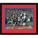 Framed Don Beebe Buffalo Bills Super Bowl XXVII Autographed 8'' x 10'' Ball Swat... by