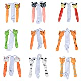 キッズギフト2m 木製 縄跳び ロング縄とび ジャンピング ロープ おもちゃ/スポーツ用品