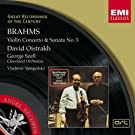 Brahms : Violin Concerto in D/Violin Sonata No.3 in D minor