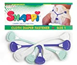 Snappi Cloth Diaper Fasteners - Pack of 3 (Mint color mix)