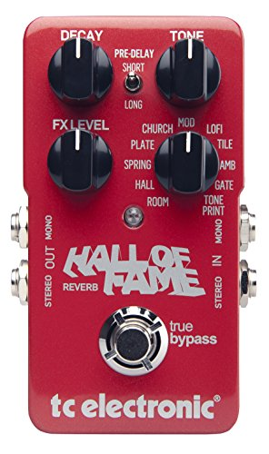 tc electronic Hall of Fame REVERB ギターエフェクター