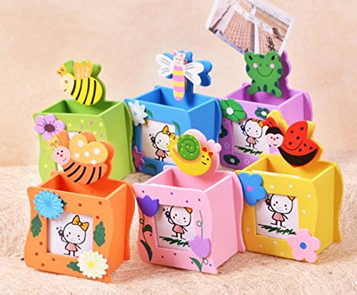 Pack Of 6 Wooden 3 In 1 Function Pencil Stand For Birthday Return Gifts Kids799 Rs Mrp 799