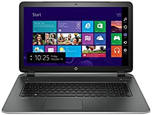 "HP Pavilion 17-f241nf PC Portable 17,3"" Argent (Intel Core i5, 8 Go de RAM, Disque Dur 1 To, Carte Nvidia GT840M 2 Go, Windows 8.1)"