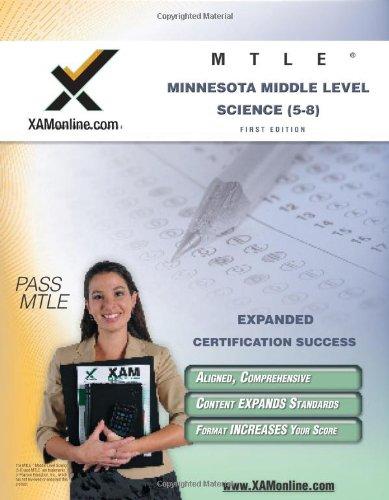 Mtle Minnesota Middle Level Science (5-8) Teacher Certification Test Prep Study Guide