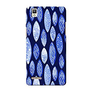 ArtzFolio Spots And Waves : Oppo F1 Matte Polycarbonate ORIGINAL BRANDED Mobile Cell Phone Protective BACK CASE COVER Protector : BEST DESIGNER Hard Shockproof Scratch-Proof Accessories