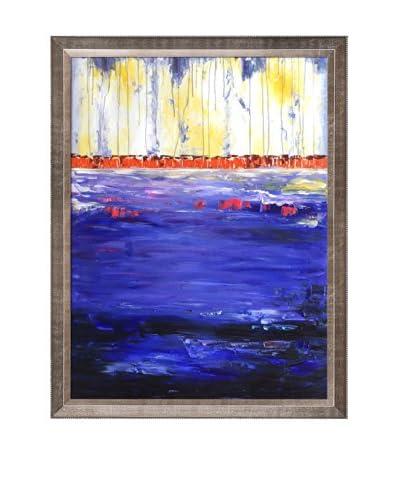 Lisa Carney Lavender Turmoil Oil Painting