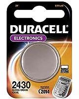 """DURACELL Pile bouton lithium """"Electronics"""" CR 2430 3 volt Blister de 1"""