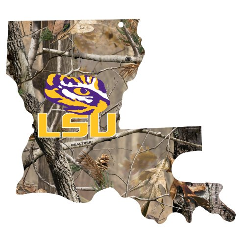 NCAA LSU Tigers Wood Sign, 11 x 17-Inch at Amazon.com
