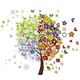 Eurographics 50 x 70 cm Four Seasons Tree Deco Sticker, Multi-Colour