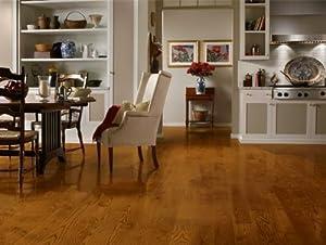 """Bruce CB5211 Dundee Gunstock 5"""" Wide Plank Oak Hardwood Flooring"""