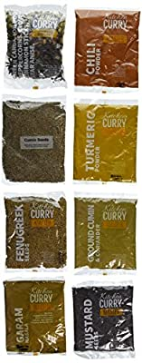 Kitchen Curry Master Spice Collection, 12 Indian Food Spices, 30 Ounce from Kitchen Curry, LLC