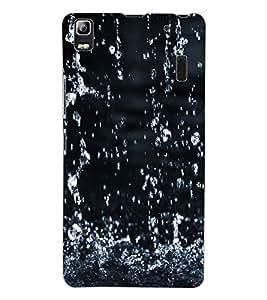 ColourCraft Lovely Rain Falling Design Back Case Cover for LENOVO A7000 TURBO