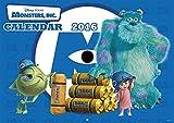 モンスターズ・インク 2016年 カレンダー 壁掛け