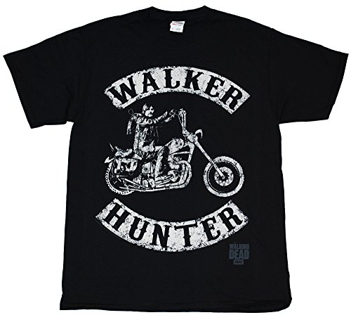 The Walking Dead - Walker Hunter Motorcycle - T-Shirt (Small)