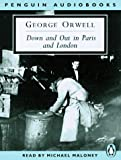 George Orwell Down and Out in Paris and London (Penguin audiobooks)