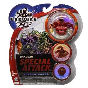 Bakugan Special Attack Turbine Helios Color Varies